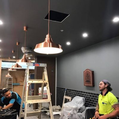 Lighting electrician