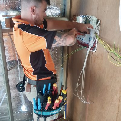 electrical switchboard installation